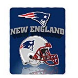 New England Patriots Fleece Throw Blanket